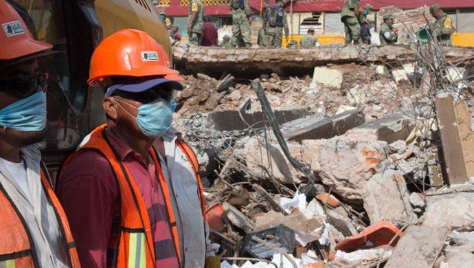 ¿Y si usted hubiera estado en México durante el terremoto?