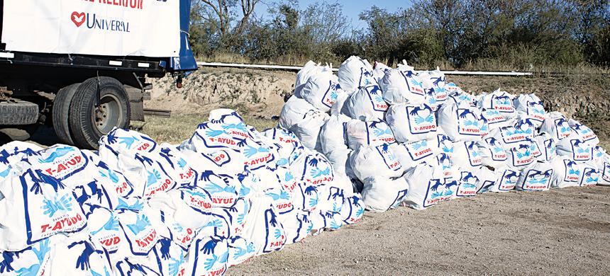 La Organización T-Ayudo ayudó a 200 familias de la provincia de San Luis