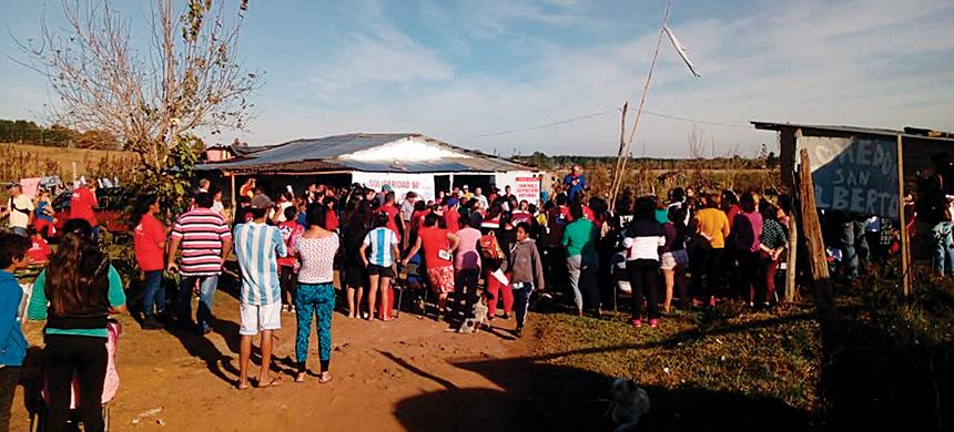 T-Ayudo entregó más de 2,5 toneladas en el barrio Los Paraísos