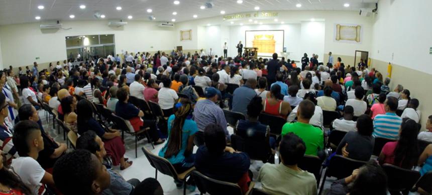 Inauguración en Cali, Colombia