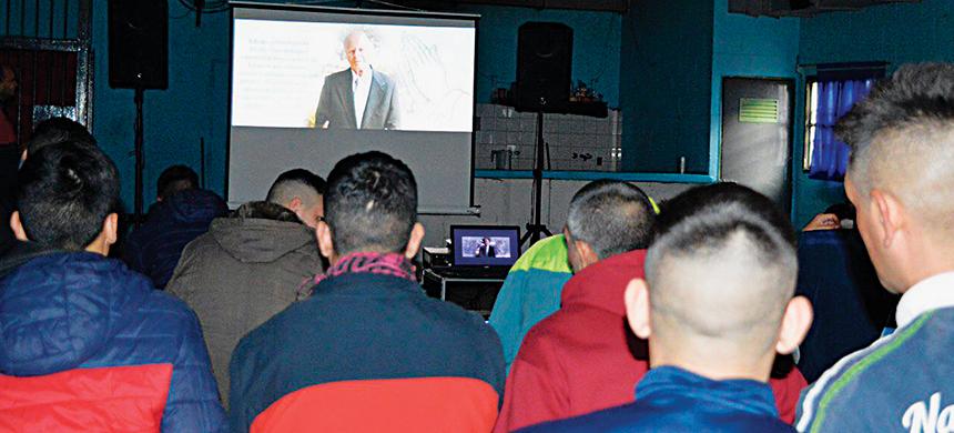 Cine solidario en la Unidad 47 de San Martín