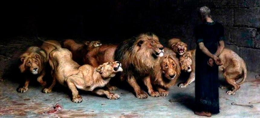 ¿Por qué Daniel fue lanzado a la cueva de los leones?
