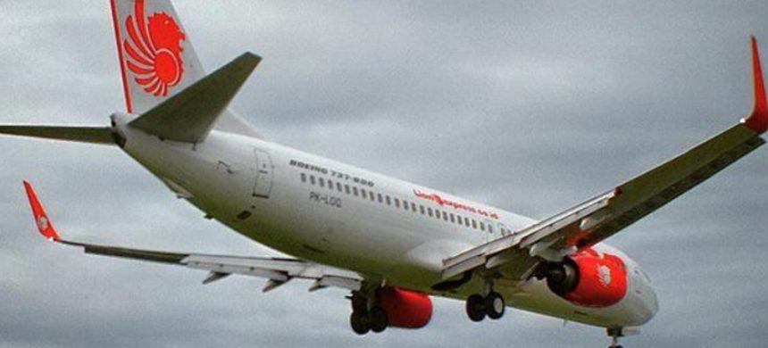 Avión cae en Indonesia luego de despegar