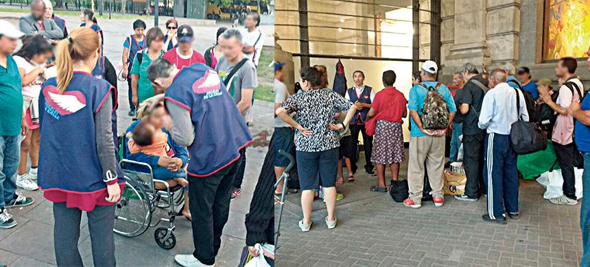 Los Ángeles de la Calle, un trabajo que salva vidas