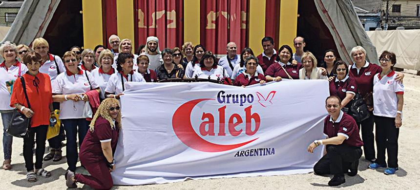 El Grupo Caleb visitó el Templo de Salomón
