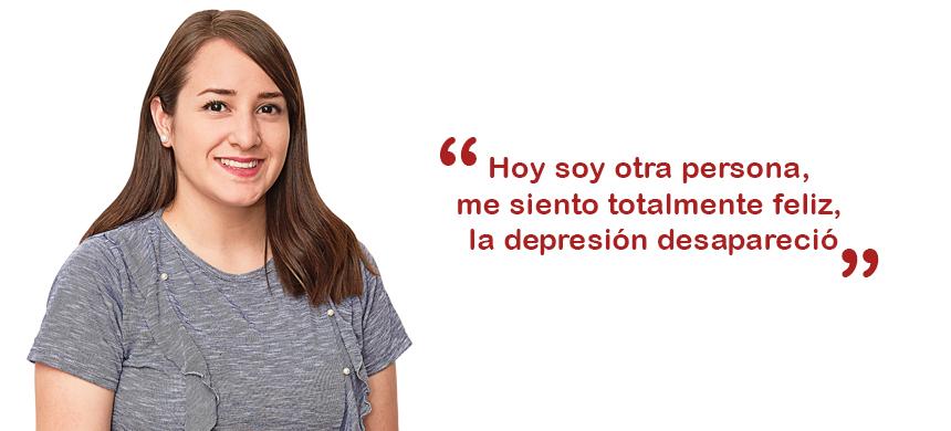 """""""La depresión me arruinó la vida"""""""