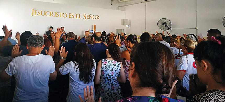 Inauguración en San Vicente