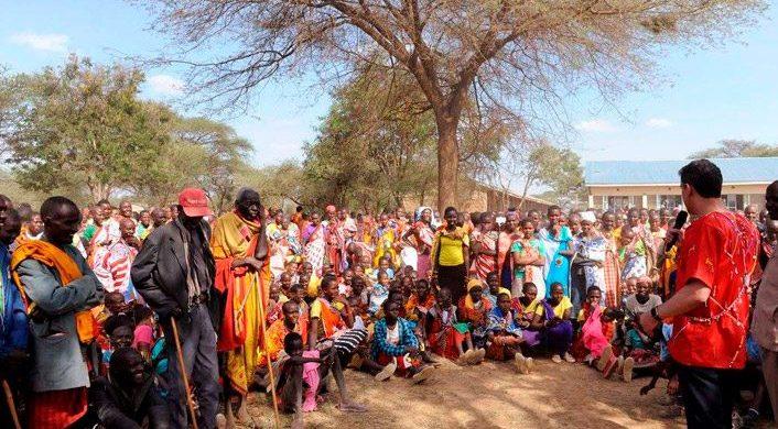 Evangelio entre los indios Massai