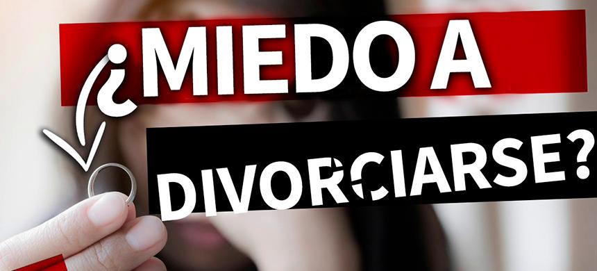 Infeliz en el matrimonio, pero con miedo a divorciarse
