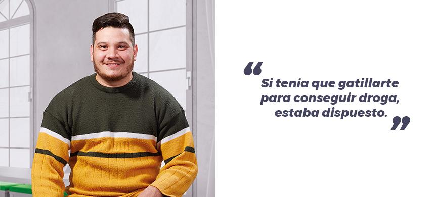 """Convertí a la cocaína en mi dios"""