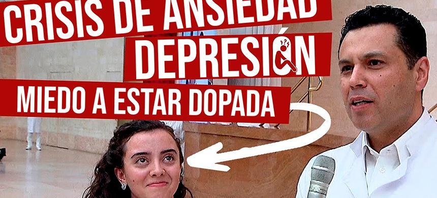 Ella tenía depresión + crisis de ansiedad y miedo a estar dopada