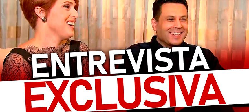 Sin cortes: entrevista exclusiva con Renato y Cristiane Cardoso (para Domingo Espetacular)