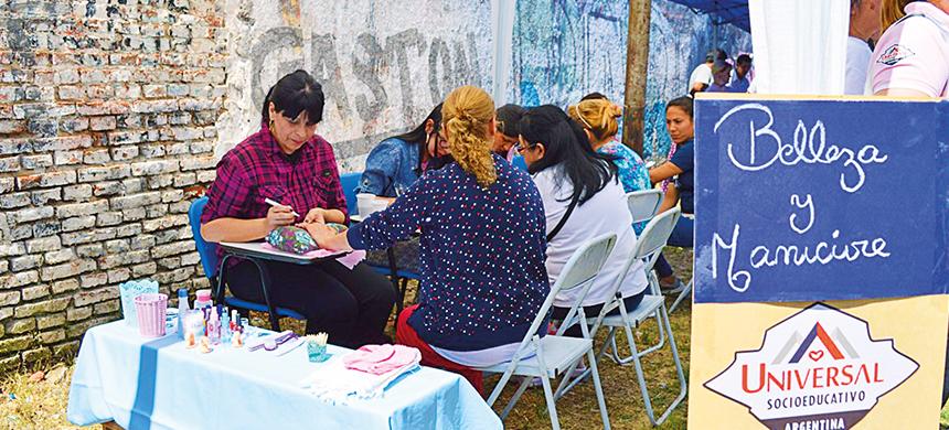 El Grupo Socioeducativo realizó un evento deportivo en Fuerte Apache