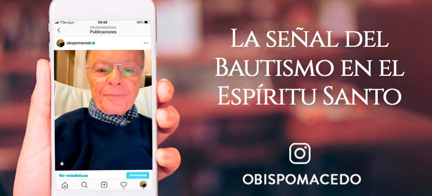 La señal del Bautismo en el Espíritu Santo