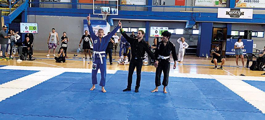 El jiu-jitsu es un deporte de disciplina