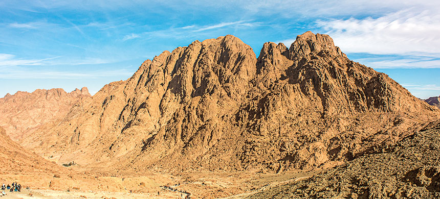 Monte Sinaí, donde Dios habita