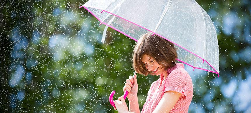 El tiempo de Dios y el paraguas