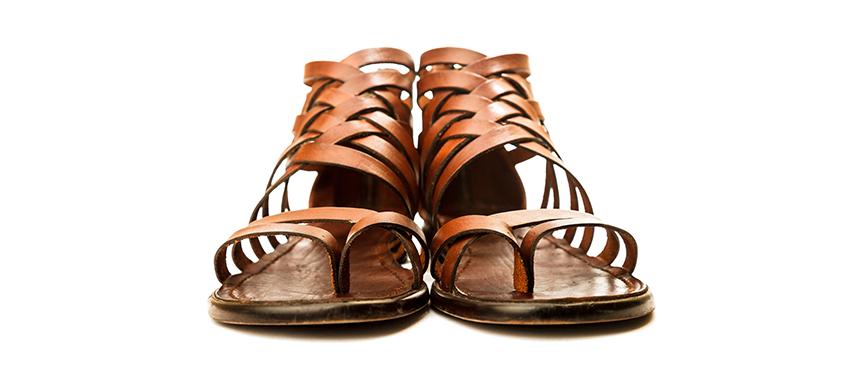 ¿Por qué ponerse las sandalias de la humildad?