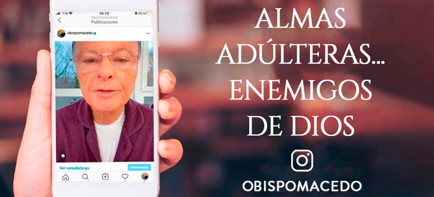 ALMAS ADÚLTERAS… enemigos de Dios