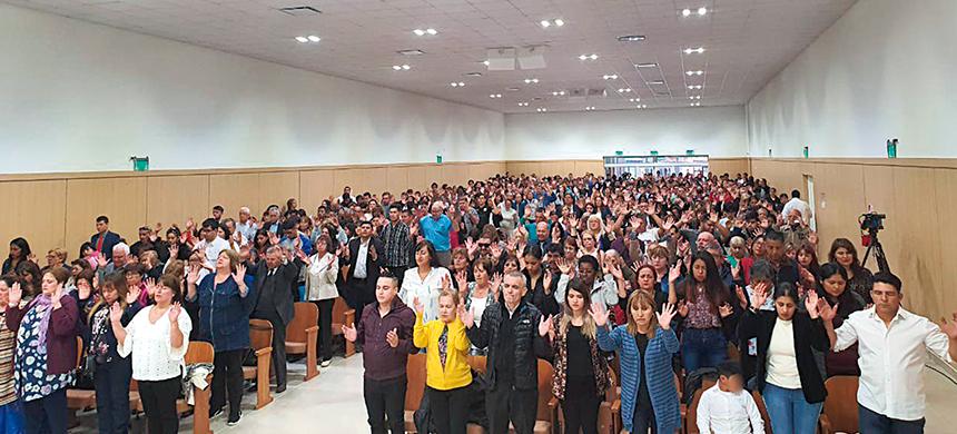 ¡Gran inauguración de la catedral en Río Gallegos!