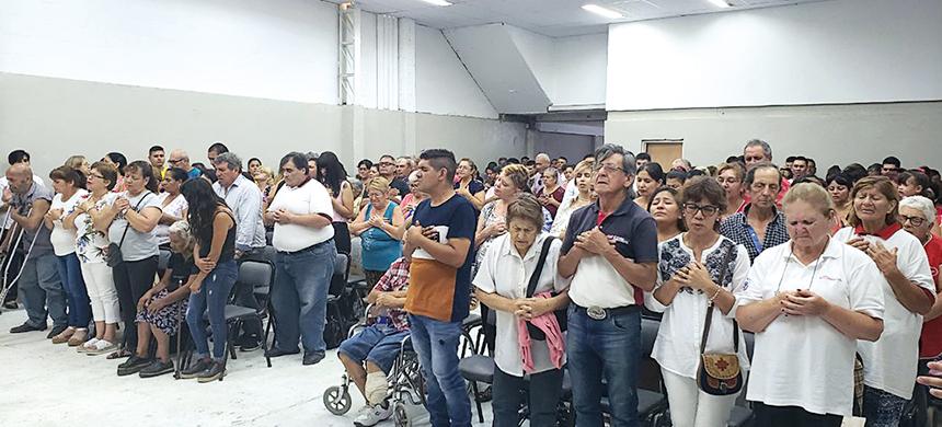 Se inauguró el nuevo templo de Virrey del Pino