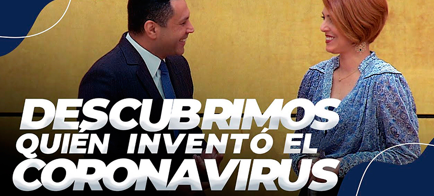 Descubrimos quién inventó el coronavirus