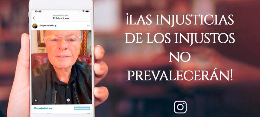 ¡Las injusticias de los injustos no prevalecerán!