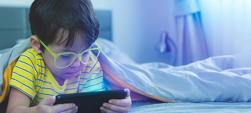Los niños y las pantallas
