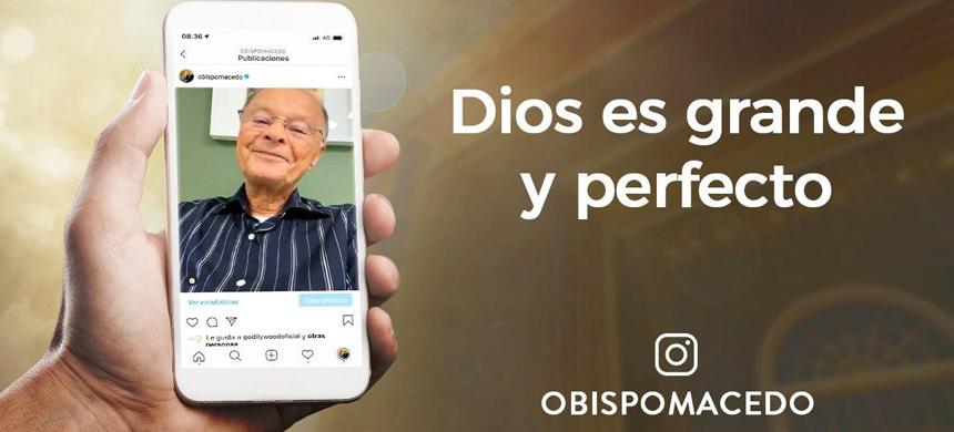 Dios es grande y perfecto