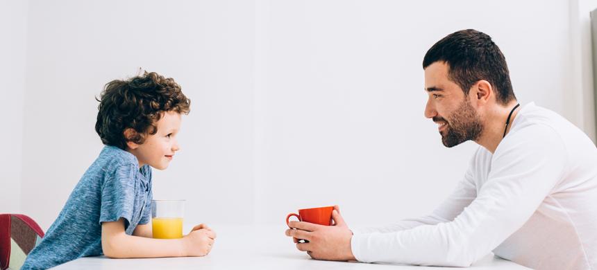 La influencia de las palabras en la vida de los hijos