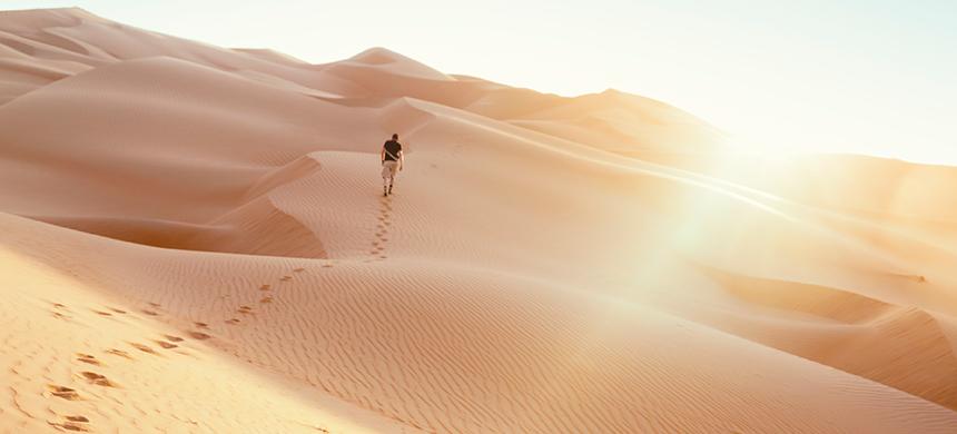 ¿Morir en el desierto o cruzarlo?