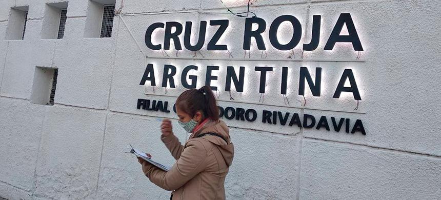 La Universal en la Cruz Roja de Comodoro Rivadavia