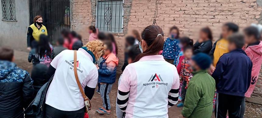 El grupo Socioeducativo en Puente la Noria