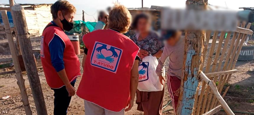 La organización Unisocial sigue ayudando a quienes más lo necesitan