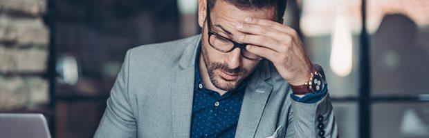 Equivocaciones que lo llevan al fracaso