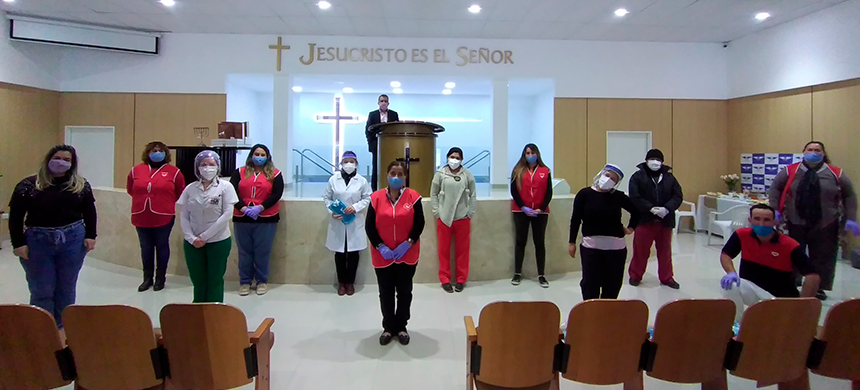 Campaña de donación de sangre en José León Suárez, Comodoro Rivadavia y Glew