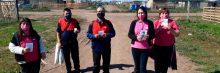 Los voluntarios del grupo UEC de Florencio Varela y La Plata llevan el mensaje de la Salvación a los más abatidos