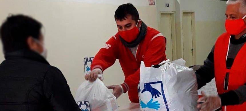 Donación de alimentos en Pontevedra